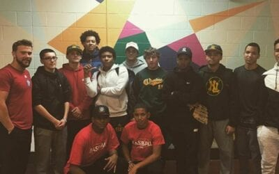 Baseball 860 Visits New London High School